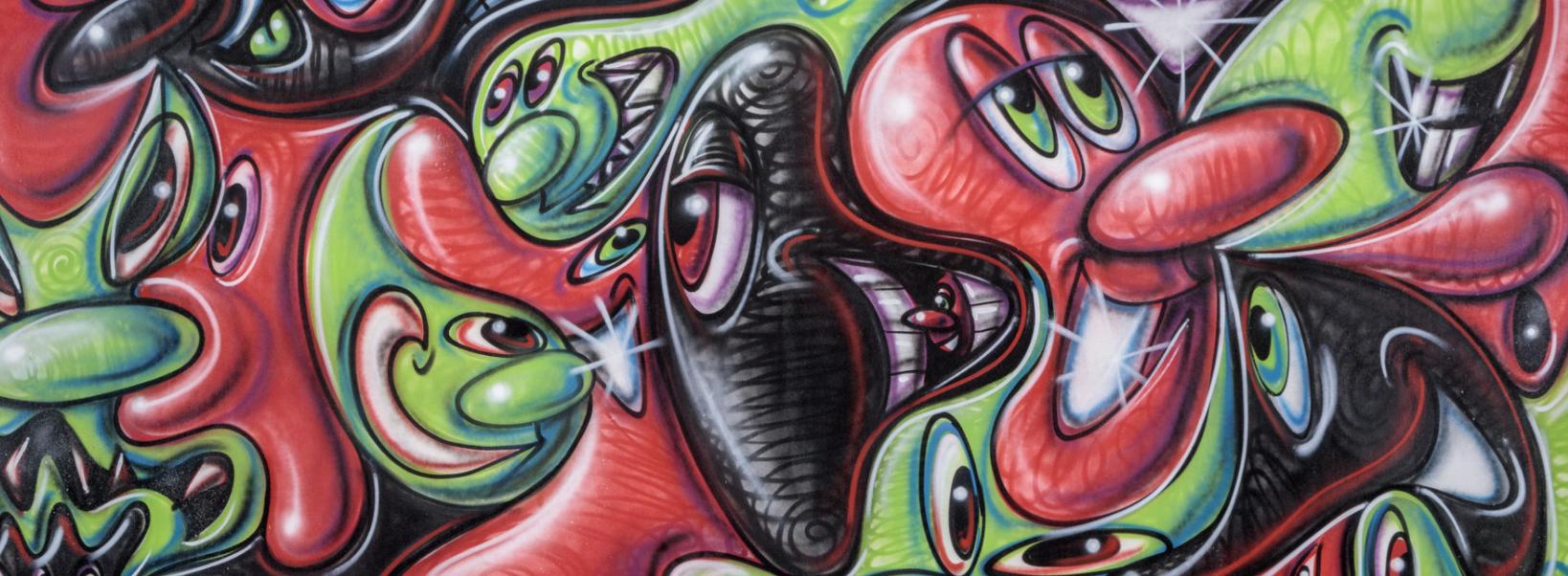 Kenny Scharf NFT art