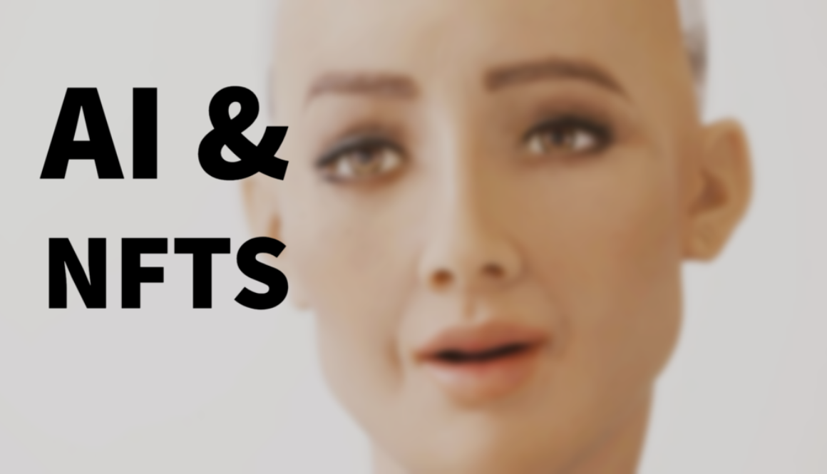 Artificial Intelligence and NFTs - Sophia the Robot Drop
