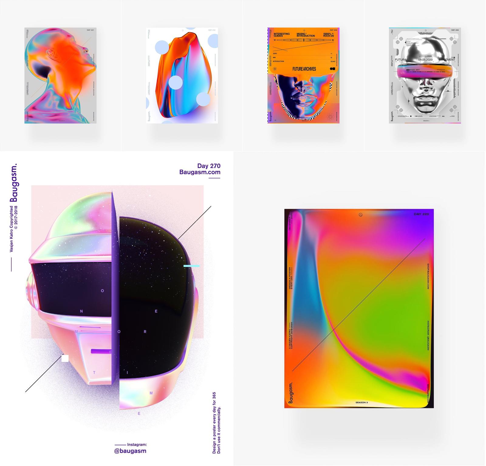 Baugasm-NFT-Collage