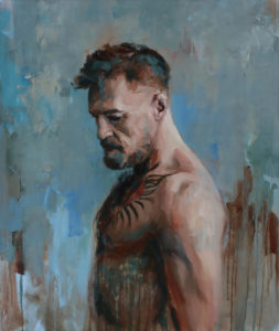 Conor McGregor, oil on canvas