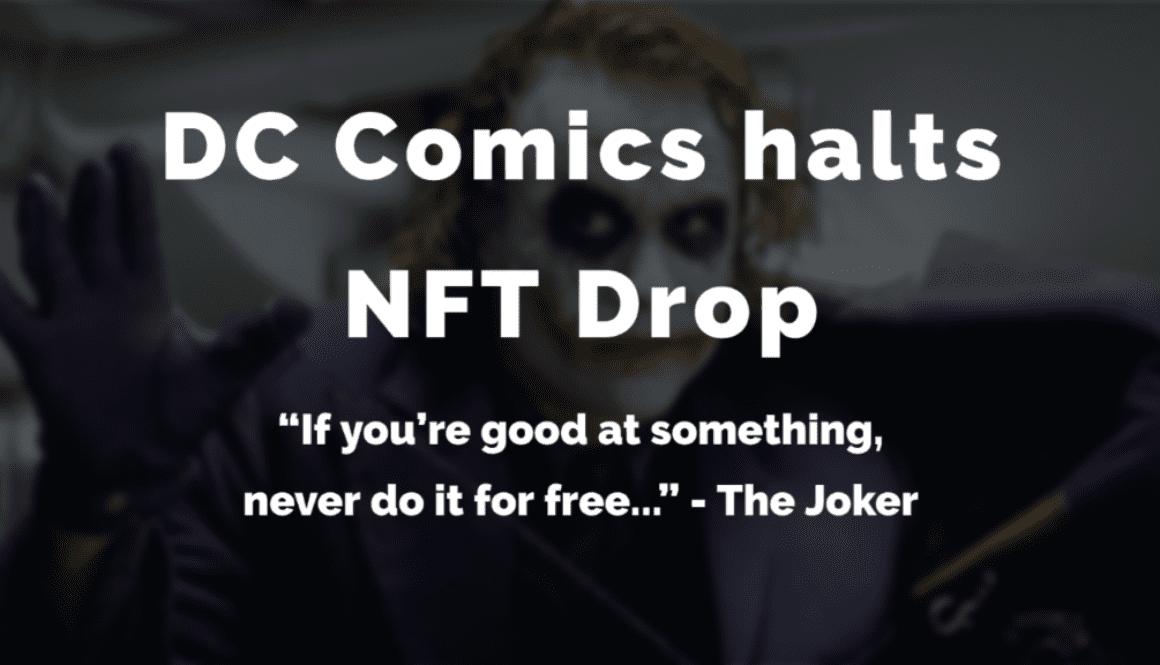 DC-Comics-Halts-NFT-DRop