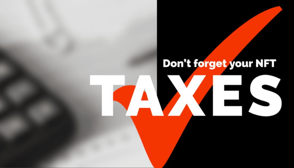 NFT-Non-fungible-token-taxes