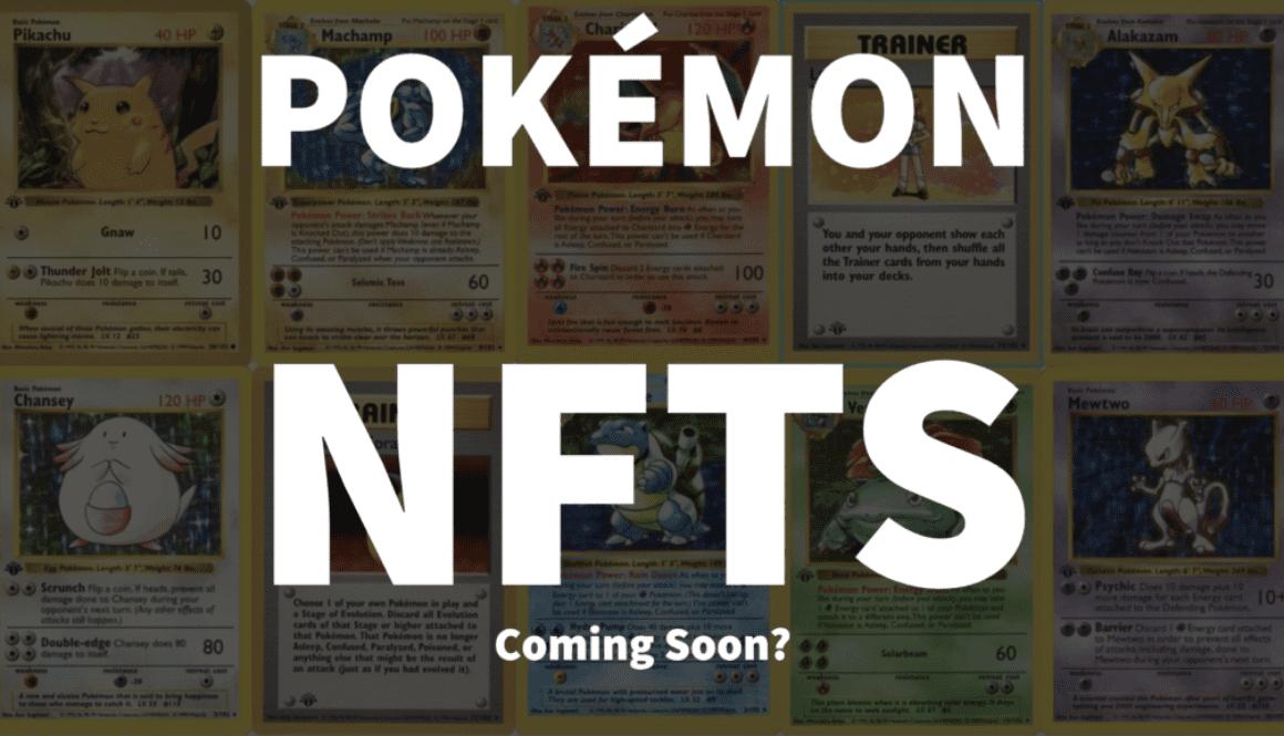 Pokemon NFT Collectables - NFT Culture
