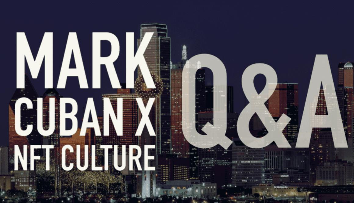 Mark Cuban Interview NFT Culture